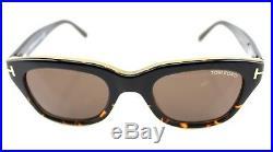 8abab117d6 NEW Genuine James Bond TOM FORD Snowdon Havana Sunglasses TF 237 FT 0237  05J 50