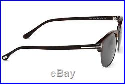 5905ba629b NEW Genuine TOM FORD Henry Bond 007 Clubmaster 53 Sunglasses TF 248 FT 0248  52A