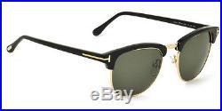 NEW Genuine TOM FORD Henry Clubmaster 53 BOND 007 Black Sunglasses TF 248 FT 05N