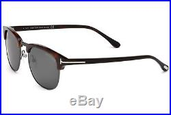 NEW Genuine TOM FORD Henry Havana Clubmaster 51MM Sunglasses TF 248 FT 0248 52A