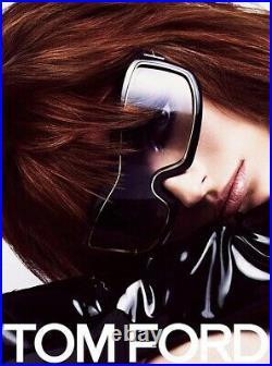 NEW Genuine TOM FORD OLGA Black Gold Shield Women Sunglasses TF 305 FT 0305 01B