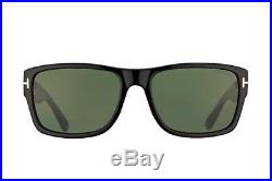 NEW Genuine Tom Ford FT0445 01N 58 Shiny Black Mens Sunglasses Glasses