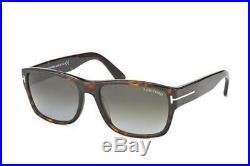 NEW Genuine Tom Ford FT0445 52B 58 Dark Havana Mens Sunglasses Glasses