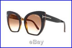 NEW Genuine Tom Ford FT0553 05U 55 Black Womens Sunglasses Glasses