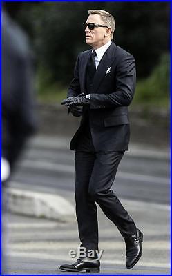 NEW James Bond 007 SPECTRE TOM FORD Snowdon Black Sunglasses TF 237 FT 0237 05B