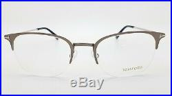 NEW Tom Ford RX Eye Glasses Frame Gunmetal TF5452 013 52mm AUTHENTIC FT5452 Club