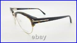 NEW Tom Ford RX Glasses Frame Dark Havana Gold FT5471/O 052 53mm GENUINE TF5471