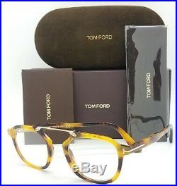 NEW Tom Ford RX Glasses Frame Havana TF5495/O 055 48mm AUTHENTIC FT5495 tortoise