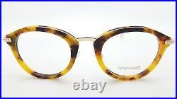 NEW Tom Ford RX Glasses Frame Light Havana Gold FT5497/V 055 48mm GENUINE TF5497