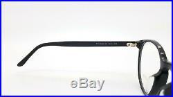 NEW Tom Ford RX Prescription Glasses Black Asian Fit TF5524 F/O 001 52mm Round