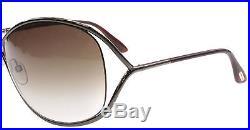 NEW Tom Ford Sunglasses TF 130 MIRANDA Brown 36F Woman's TF130