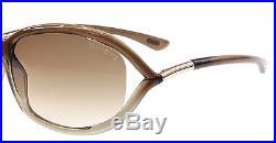 NEW Tom Ford Sunglasses TF 8 Brown 38F Jennifer TF8