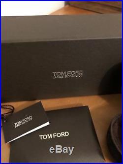 NWT Tom Ford James Bond (TF108 19v) Quantum of Solace & Receipt (Frames Direct)