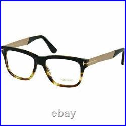 New $182 TOM FORD Eyeglasses FT5372 005 Black