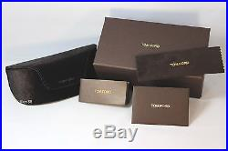 New Authentic TOM FORD SERGIO TF379-50K DarkBrown Gold/Brown Gradient Sunglasses