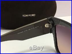 New Authentic Tom Ford Anoushka TF371 38B Dove Gray / Gradient Smoke