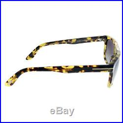 New Authentic Tom Ford Cecilio-02 TF 628 56K Tortoise Sunglasses Brown Lens