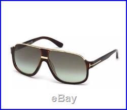 New Authentic Tom Ford Elliot FT0335 56K Havana Sunglasses w case