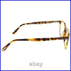 New Authentic Tom Ford FT 5505 055 Havana Plastic Square Eyeglasses 52mm