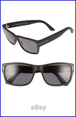 New Authentic Tom Ford Men's Polarized Mason FT0445 02D Matte Black Sunglasses