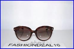 New Authentic Tom Ford Monica Havana TF429 56F 54-20-140 Sunglasses