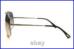 New Authentic Tom Ford Ronnie 439 01Q Gunmetal Black Mens Sunglasses 60-13-140