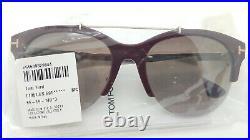 New Tom Ford Adrenne sunglasses FT0517S 69T 55mm Burgundy Gold Bordeaux Gradient