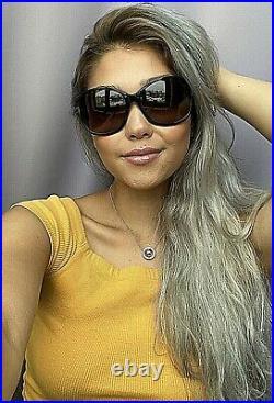New Tom Ford Black 62mm Women's Sunglasses Italy