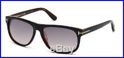New Tom Ford FT0236-05B Olivier Black Havana Grey Gradient Sunglasses 58mm