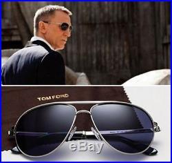 New Tom Ford Marko TF0144-18V Sunglasses James Bond 007 Skyfall Auth w case