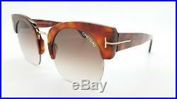 New Tom Ford Savannah-02 sunglasses FT0552 53F 55mm Blonde Havana Brown Gradient