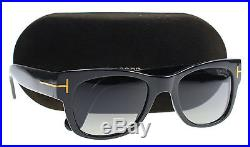 New Tom Ford Sunglasses Men TF 0058 Black 01D CARY 52mm