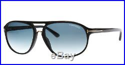 later release date: discount shop New Tom Ford Sunglasses Men TF 447 Black 01P Jacob 60mm ...