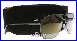 New Tom Ford Sunglasses Men TF 451 Silver 09C Dominic 60mm