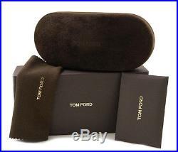 New Tom Ford Sunglasses Men TF 452 Black 01K Stacy TF452 57mm