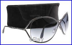 New Tom Ford Sunglasses TF 130 MIRANDA Gunmetal 08B Women TF130 68mm