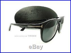 New Tom Ford Sunglasses TF289 Callum 01N Black FT0289/S Authentic