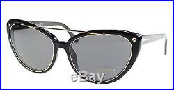 592e679bc1e New Tom Ford Sunglasses Women Cat Eye TF 384 Black 01A Edita 58mm ...
