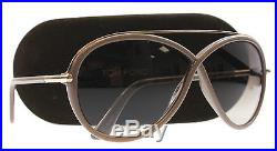 New Tom Ford Sunglasses Women TF 454 Brown 59K Tamara 64mm