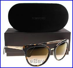 New Tom Ford Sunglasses Women TF 461 Tortoise 52G Emma 56mm