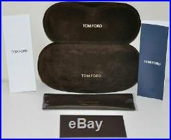 New Tom Ford TF 5476 12V Ruthenium/Blue Eyeglasses WithMagnetic Clip On Sunglasses