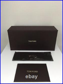 New Tom Ford TF 666 Tripp Sunglasses Aviator Sunglasses C. 01G Black & Gold 58mm