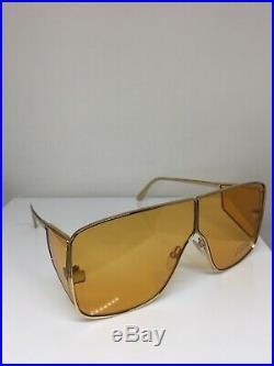 New Tom Ford TF 708 Sunglasses Spector Tom Ford Sunglass C. 33E Shiny Gold 72mm