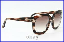 New Tom Ford Tf 279 49f Christophe Brown Sunglasses Authentic 53-23