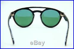 4a701b4163f0 New Tom Ford Tf 537 01n Clint Black Authentic Sunglasses 50-21