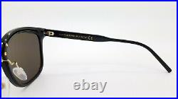 New Tom Ford sunglasses FT0639-K/S 01A 57mm Black / Gold / Grey AUTHENTIC Unisex