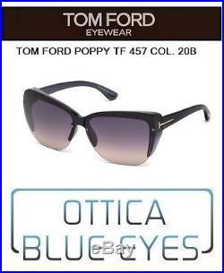Occhiale da sole Tom Ford poppy TF 457 20b Sunglasses FT LUXURY Sonnenbrillen