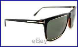 36d5fa0a959a6 POLARIZED TOM FORD KARLIE Black Havana Grey Green Sunglasses TF 392 FT 0392  01R