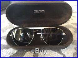 RARE Collectors TOM FORD JAMES BOND 007 Aviator Blue Sunglasses TF 108 19V