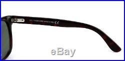 RARE NEW TOM FORD ROCK Burgundy Havana Grey Green Sunglasses TF 290 FT 0290 52N